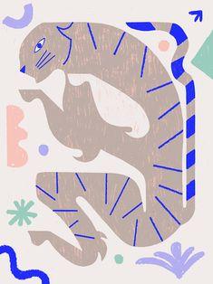 ☆ T I G E R ☆ ☆ B o n z o ☆ different colours my entry for Slowdown Studio Comp Different Colors, Sonic The Hedgehog, Blueberry, Colours, Illustrations, Fictional Characters, Instagram, Art, Art Background