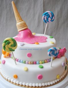 gâteau d'anniversaire enfant filles fruits rouge - Recherche Google