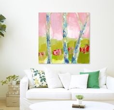 Pink makes me happy as does these beautiful Carolina days. #warmweather #springyet #charlotteart #charlotteartist #ncartists #ncartist #carolinaartist