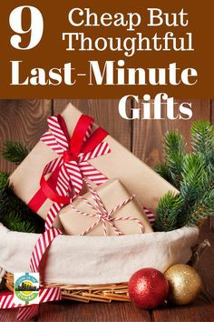 9 But Thoughtful Last Minute Gifts