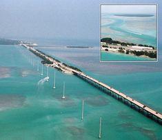 7 Mile Bridge to Key West.