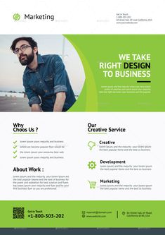 Buy Flyer by CreativeCursor on GraphicRiver. Corporate Flyer print dimension with bleeds. Well Layered Organised PSD and EPS Files, CMYK , Prin. Company Profile Design, Free Brochure, Flyer Design, Design Design, Text Fonts, Business Poster, Business Flyer, Corporate Flyer, Pictures Images