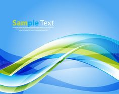 Striped wave with transparencies background