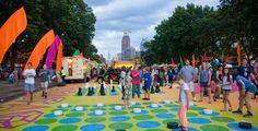 Pop-Up Park The Oval Returns To The Benjamin Franklin Parkway For Summer 2016