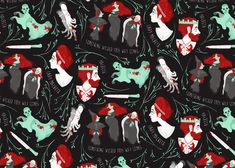 """Check out this @Behance project: """"Shakespearian patterns"""" https://www.behance.net/gallery/44849963/Shakespearian-patterns"""