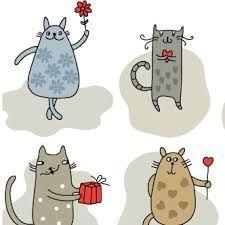 gatitos caricatura - Buscar con Google