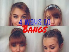 18 different ways to style bangs (tutorials included!)