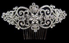 Side Hair Comb Available at The Bridal Suite of Louisville