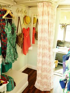 Looking at ideas for our mobile boutique ... coming to a city near you! :)