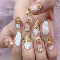 Nails After Acrylics, Acrylic Nails, Cute Nails, Pretty Nails, Nail Ring, Shiny Nails, Rhinestone Nails, Stylish Nails, Cute Nail Designs