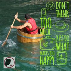"""Enjoy everything you do! By the way this is NOT what winemakers talk about when mentioning """"barrel aging"""". I can imagine if you do this kind of exercise you'll age better (if you don't drown). Have a great weekend!"""