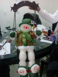 Noël Felt Christmas, Christmas Snowman, Christmas Crafts, Christmas Ornaments, Snowman Crafts, Santa, Holiday Decor, Gabriel, Outdoor Decor