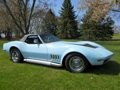 1969 Corvette Convertible with matching hardtop
