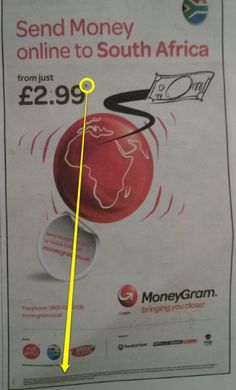 Here MoneyGram are advertising a fixed transfer fee of £2.99. It's unclear if their terms and conditions explain that they make money on the gap between their exchange rate and the real mid-market rate - the writing is too small to read.