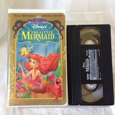 Disney The Little Mermaid (VHS) Disney Masterpiece Collection Special Edition #Mermaid #Princess