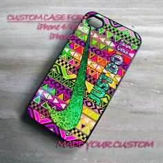Aztex Pattern Nike Just Do It , iPhone 4 Case, iPhone 4s Case, iPhone 5 Case, Samsung Galaxy S3 i9300, Samsung Galaxy S4 i9500