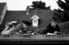 reading on the roof by lanier67, via Flickr