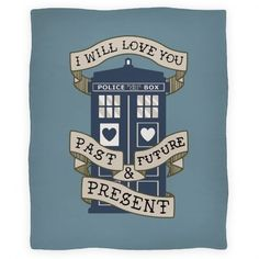 I Will Always Love You Doctor Who Blanket, I think this would make a lovely tattoo..