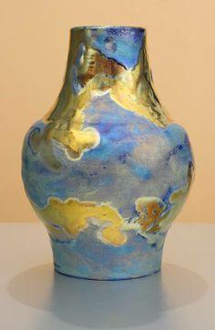 paul j. katrich pottery | Iridescent Pottery by Paul J. Katrich (1298)]