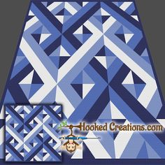 Criss Crossed SC Throw Blanket Crochet Pattern - PDF Download