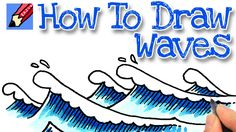 How to draw Waves Real Easy