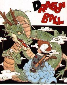 鳥山明 Shenron from Dragon Ball anime and manga
