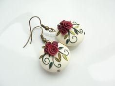 polymer clay flowers - Поиск в Google                                                                                                                                                     More