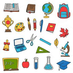 School and education set. by incomible on Creative Market