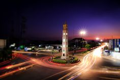 Clock Tower at Pattani, Thailand by Choat Photographer on 500px