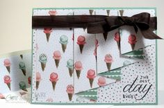 For instructions on making this card, check it out on my blog here: http://cardiologybyjari.com/stampin-birthday-blossoms-drapery-fold-card/