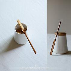 日式和风餐具 小号木质茶叶铲木勺-淘宝网