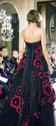 Rosamaria G Frangini | FashionChic | Class | Marchesa Fall Winter 2015-2016 Couture