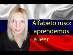 Aprende el alfabeto ruso en mi canal en YouTube.