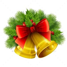 Christmas Decoration with Evergreen Trees
