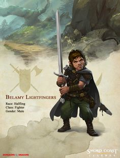 Companion Bio: Belamy Lightfingers | Sword Coast Legends