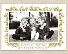 Christmas Photo Cards from brownpaperstudios on Etsy Merry Christmas Love, Christmas Photo Cards, Christmas Photos, New Year Greeting Cards, New Year Greetings, Halloween Photos, Halloween Cards, Diy Envelope Liners, Diy Cards
