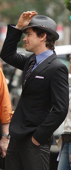 Neal Caffrey swag...so cute!!