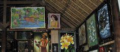 Warung Bali Sangeh.  Warung yang berdesain Tradisional sangat enak di buat makan sekeluarga atau bersama teman saat liburan di bali.