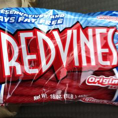 I have a serious addiction to Red Vine licorice.  OH MY! 8)