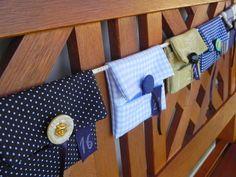 Bulbo: Calendario de adviento (tutorial) Wood Watch, Diaper Bag, Christmas, Sewing Lessons, Advent Calendar, Tents, Wooden Clock, Xmas, Diaper Bags