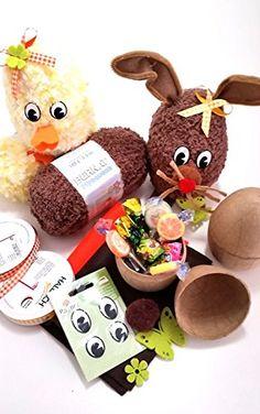 Häkelset Hase Hoppel und Kücken Hilde , mit Bastelmaterial für 4 Figuren Hobby Welt kreativ Set http://www.amazon.de/dp/B00TBAN5I4/ref=cm_sw_r_pi_dp_I9xavb0193991