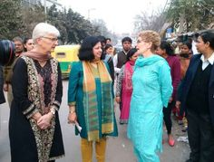"""Share or Comment on: """"CANADA: Kathleen Wynne Gets Siropa At Golden Temple By Sikh Leaders"""" - http://www.politicoscope.com/wp-content/uploads/2016/01/Canada-News-Ontario-Premier-Kathleen-Wynne-and-her-spouse-Jane-Rounthwaite-left-with-Dr.-Kiran-Martin-a-pediatrician-who-runs-the-charity-Asha-tours-the-slums-of-New-Delhi.jpg - The SGPC maintained that the Sikh religion did not legitimise same sex marriages.  on Politicoscope - http://www.politicoscope.com/canada-kathleen-wynne-"""