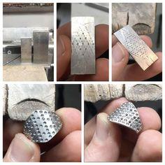 Big day with the dividers... #whitegold #diamonds #latticering #diamondring #handmade #benchjeweller #progresspics #wip #canberra #jewellers #bespoke #custommade #jewellery #madeincanberra