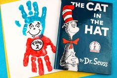 This post contains affiliate links. Please see mydisclosure policy. Create your own handprint Thing 1 and Thing 2 handprint art from the popular book by Dr. Seuss called Cat In The Hat.With National Read Across America Day approaching, we've been pulling out and reading some of our favorite Dr. Seuss books which also means Dr. …
