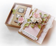 First Communion Cards, First Holy Communion, Spellbinders Cards, Baptism Gifts, Pillow Box, Cute Cards, Christening, Mini Albums, Flower Arrangements