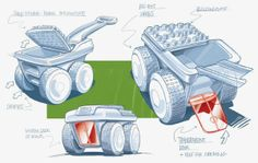 Concepts - Sketches - Personal project on Behance.