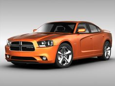 dodge charger 2013 | Dodge Charger (2013) 3D Model Game-ready .max .obj .3ds .fbx ...
