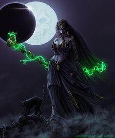 Warhammer: Neferata by Soulfein on DeviantArt Warhammer Art, Warhammer Fantasy, Fantasy Images, Fantasy Artwork, Fantasy Girl, Dark Fantasy, Tolkien, Tomb Kings, Myths & Monsters