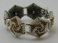 reversible hex bracelet