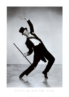 Fred Astaire - always so classy yet he maintained a sense of humor about everything